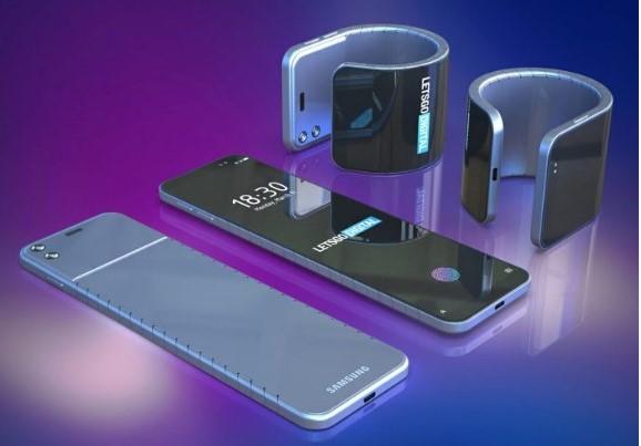 Samsung Bendable Smartphone