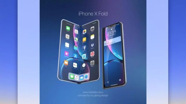 Foldable iPhone 2020