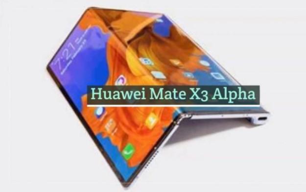 Huawei Mate X3 Alpha
