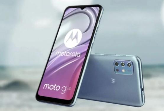 Motorola Moto G20 Plus 5G 2021